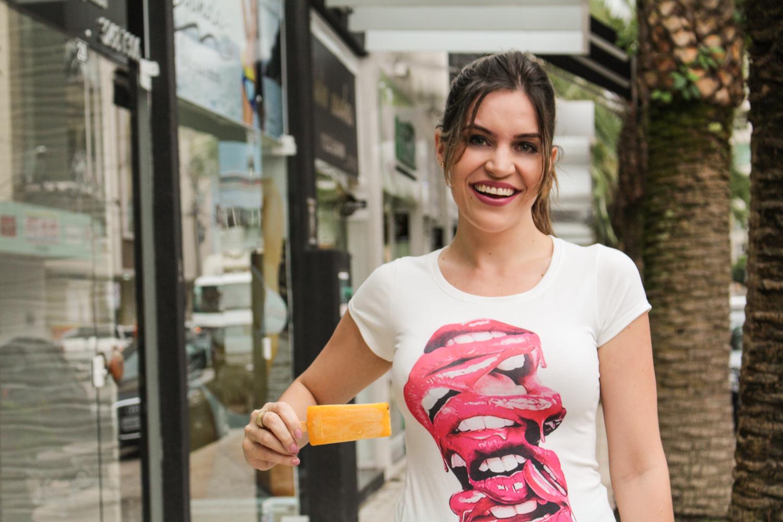 T-shirt picolé paletas