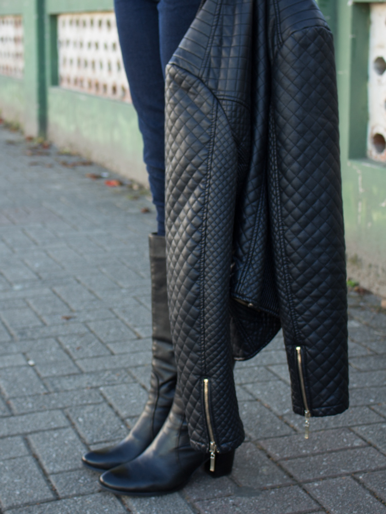 Bota e jaqueta black
