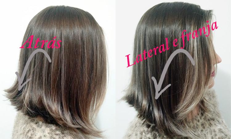 Corte Long bob hair