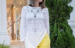 blusa assimétrica
