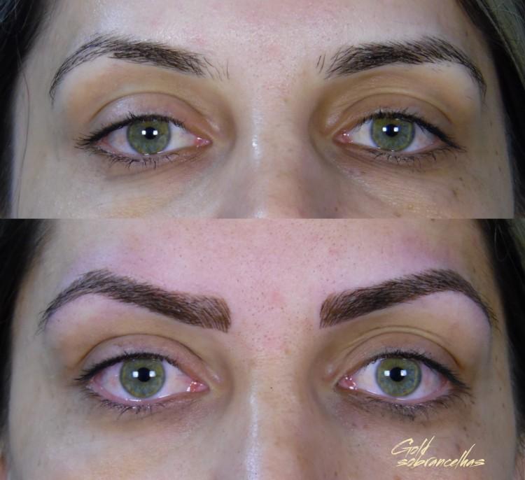 micropigmentação antes e depois su