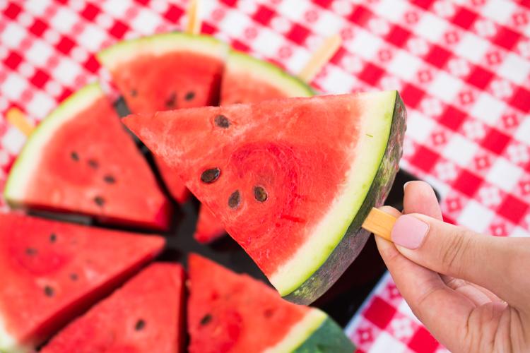 Picolé de melancia
