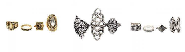 Anéis chérri bijoux moda 2017